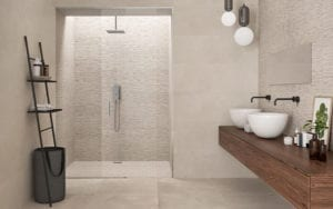 porcelain shower tile